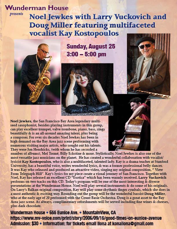 Larry Vuckovich - Internationally Acclaimed Jazz Pianist