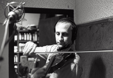Eric Golub, violinist (both on LP, and the new release)