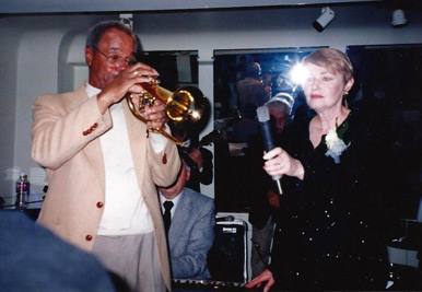 Legendary trumpet master Allen Smith with Sanna Craig, vocals.  Allen performed/recorded with Duke Ellington, Benny Goodman, and Gil Evans.