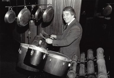 Master Brazilian percussionist, Helcio Milito, one of the Bossa Nova creators, has performed with Jobim, Stan Getz, Louis Bonfa, and Gil Evans.
