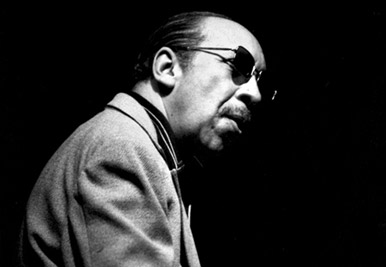 Red Garland, one of my favorites and one of the most influential jazz pianists, is captured here at Keystone Korner by Brian McMillen.