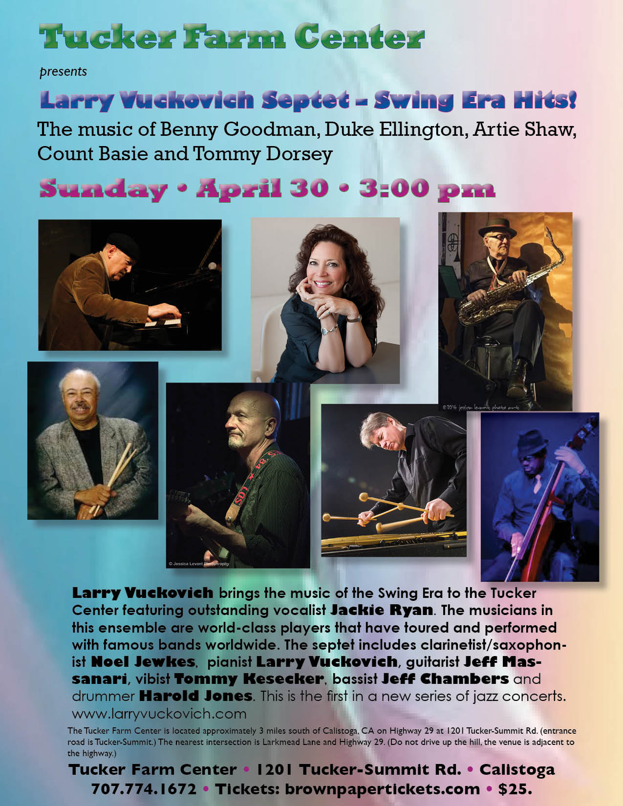 88380ab2d66bce Larry Vuckovich - Internationally Acclaimed Jazz Pianist